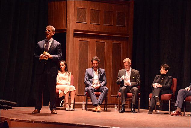 Tom Kirdahy, Michelle Veintimilla, Tom Nelis and Chita Rivera
