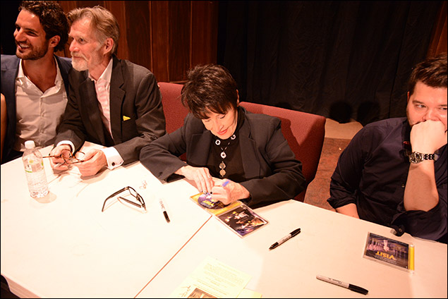 John Riddle, Tom Nelis, Chita Rivera and Chris Newcomer