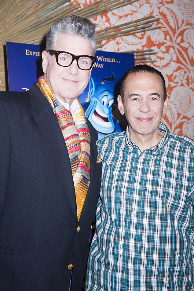 Jonathan Freeman and Gilbert Gottfried