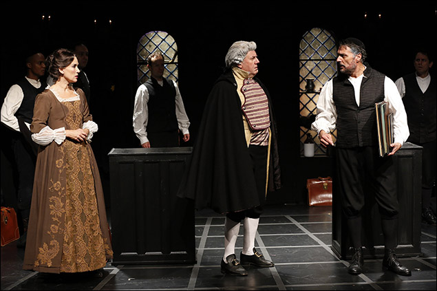 Glory Crampton, Peter Cormican and Robert Cuccioli