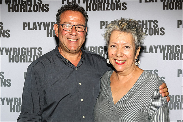 Michael Greif and Jessica Hagedorn