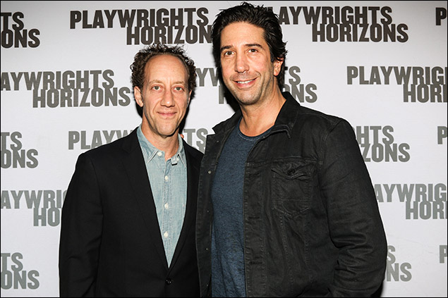 Joey Slotnick and David Schwimmer