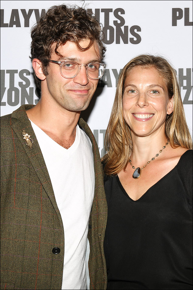 Sam Pinkleton and Carolyn Cantor