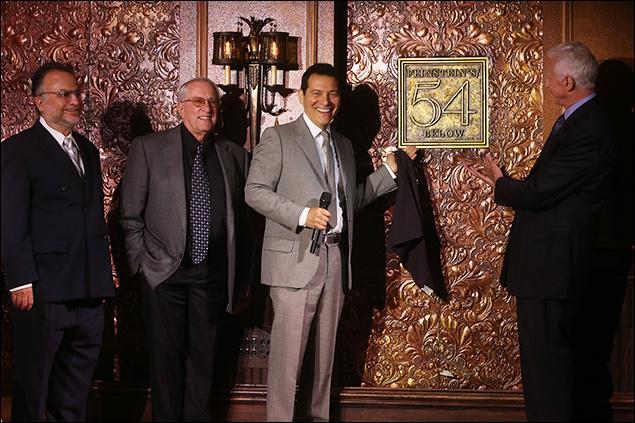 Richard Frankel, Steve Baruch, Michael Feinstein and Tom Viertel