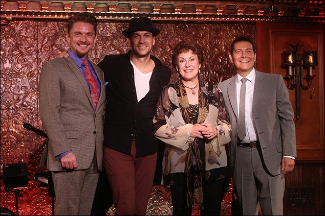Jason Danieley, Will Swenson, Judy Kaye and Michael Feinstein