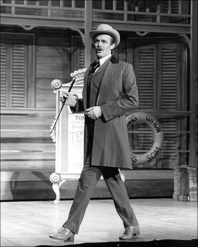 Ron Raines in the Broadway musical Show Boat, 1994
