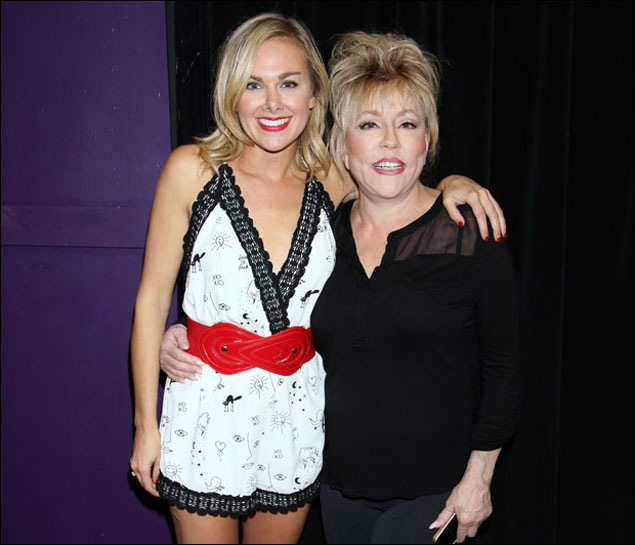 Laura Bell Bundy and Rita McKenzie