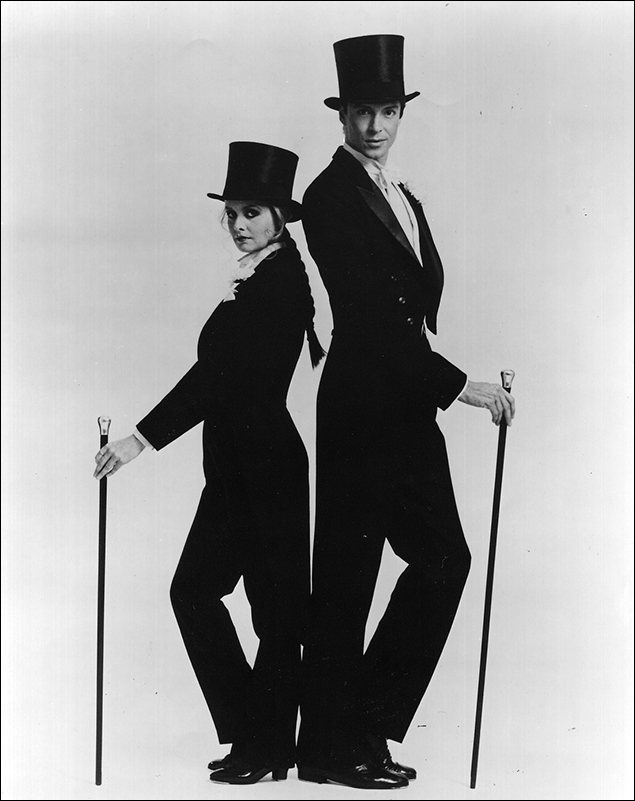 Twiggy and Tommy Tune