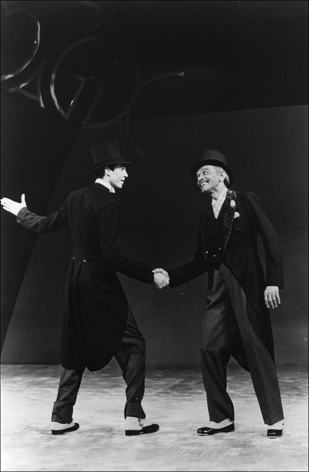 Tommy Tune and Charles Honi Coles in My One And Only