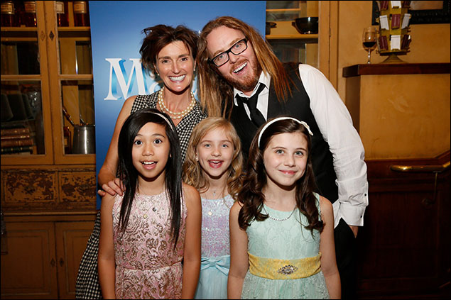 Gabby Gutierrez, Mabel Tyler and Mia Sinclair Jenness, Lucy Dahl and Tim Minchin