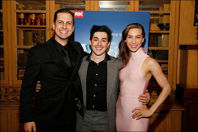 Quinn Mattfeld, Danny Tieger and Cassie Silva