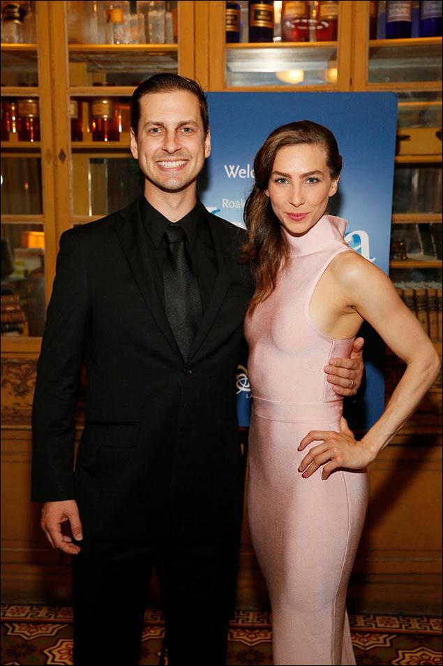Quinn Mattfeld and Cassie Silva