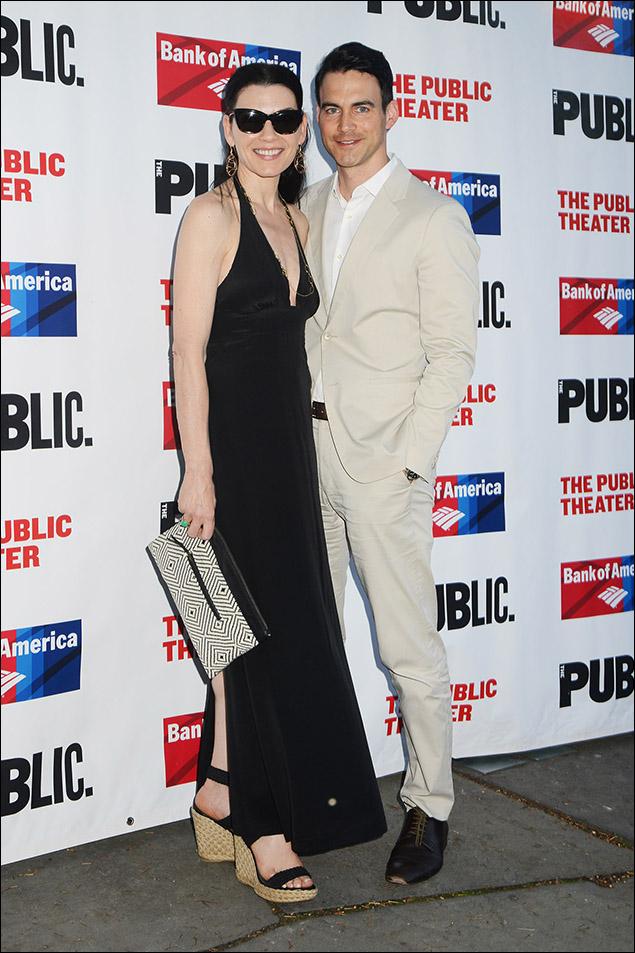 Julianna Margulies and husband