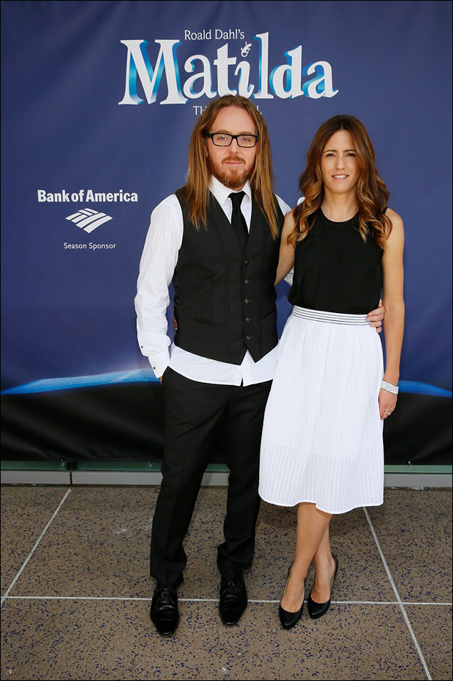Tim Minchin and Sarah Minchin