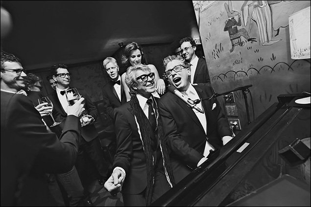 Tommy Tune and Billy Stritch