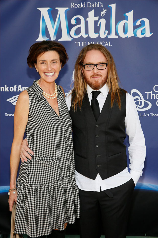 Lucy Dahl and Tim Minchin