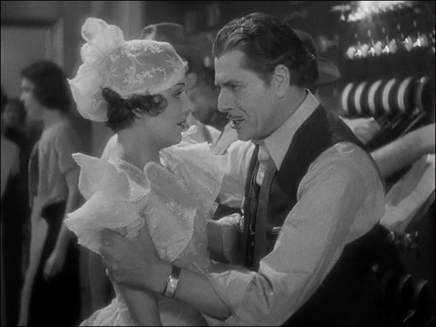 "Ruby Keeler and Warner Baxter in ""42nd Street"""