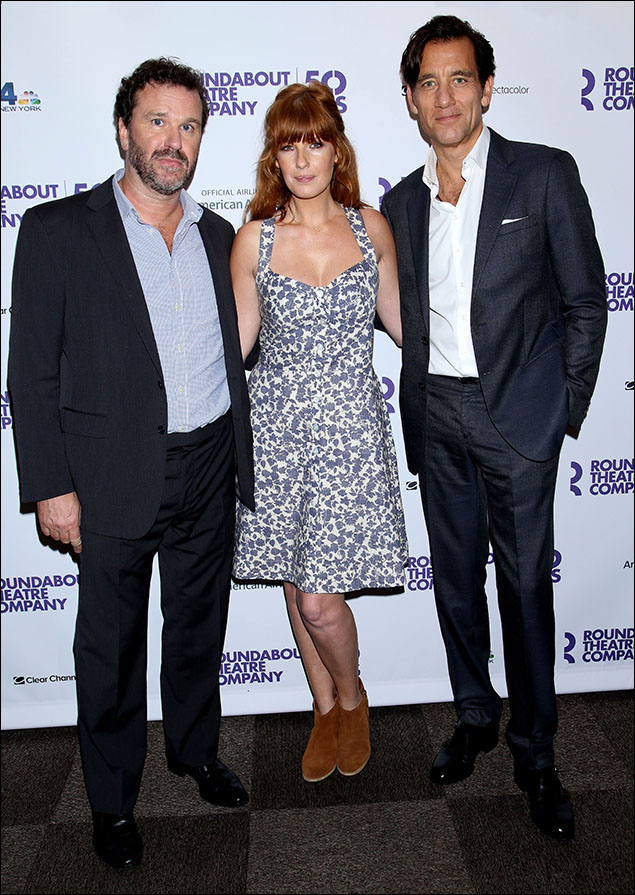 Douglas Hodge, Kelly Reilly and Clive Owen