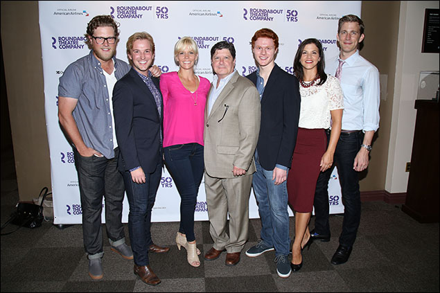 Preston Truman Boyd, Justin Bowen, Jennifer Foote, Michael McGrath, Nicholas Barasch, Sara Edwards and Benjamin Eakeley