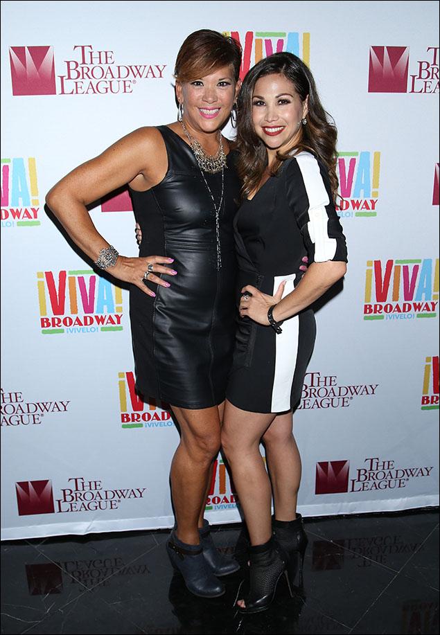 Doreen Montalvo and Bianca Marroquin