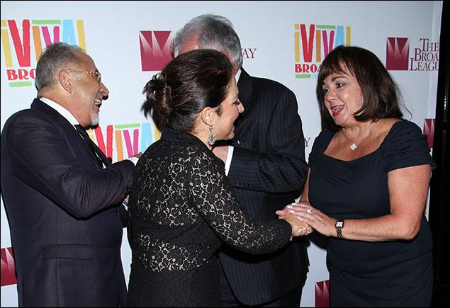 Emilio Estefan, Gloria Estefan and Charlotte St. Martin