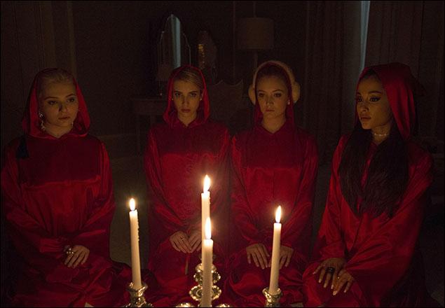 Abigail Breslin, Emma Roberts, Billie Lourd and Ariana Grande