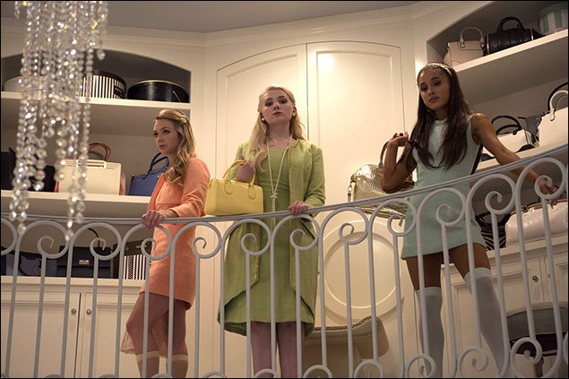 Billie Lourd, Abigail Breslin and Ariana Grande