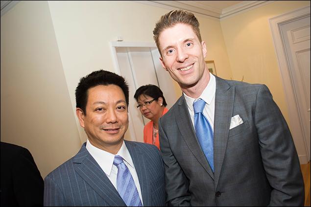 Jay Kuo and Lorenzo Thione
