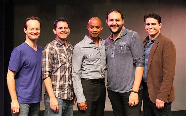 Jamie LaVerdiere, Christopher M. Williams, Curtis Wiley, Nicholas Mongiardo-Cooper, and David Bryant Johnson