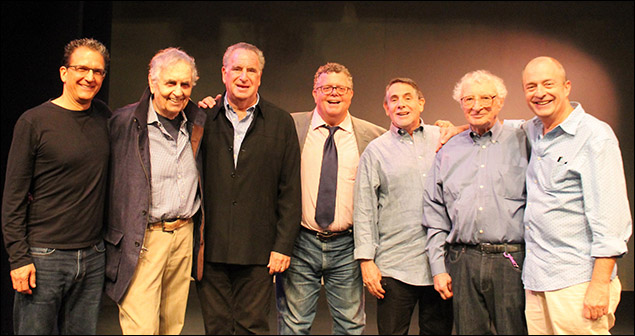 Jeffrey Klitz, Sherman Yellan, Arnold Mittelman, James Morgan, Jeffrey B. Moss, Sheldon Harnick and Joseph Church