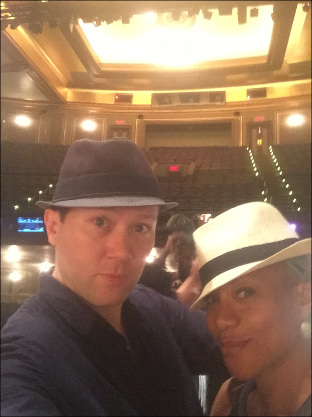Wear a fedora to fight call –with Oneika Phillips.