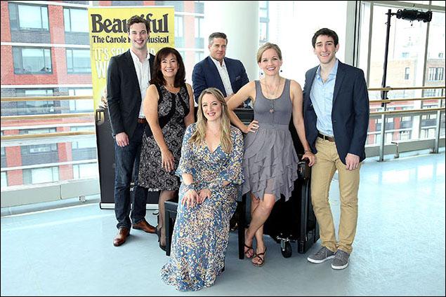 Liam Tobin, Suzanne Grodner, Curt Bouril, Abby Mueller, Becky Gulsvig and Ben Fankhauser,