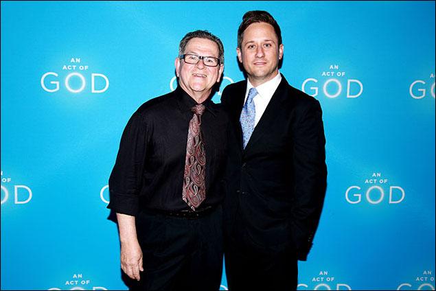 Tim Kazurinsky and Christopher Fitzgerald