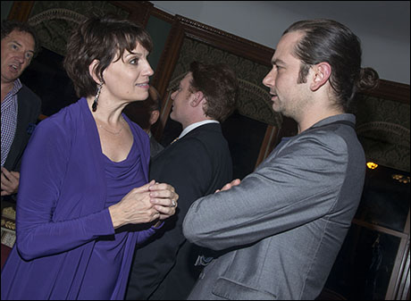 Beth Leavel and Constantine Maroulis