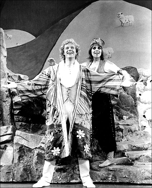 Allen Fawcett and Laurie Beechman