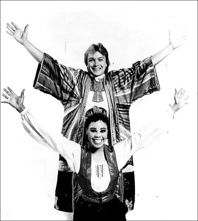 David Cassidy and Sharon Brown