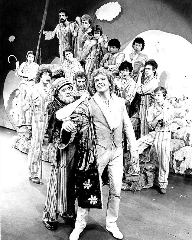 Gordon Stanley, Allen Fawcett and cast