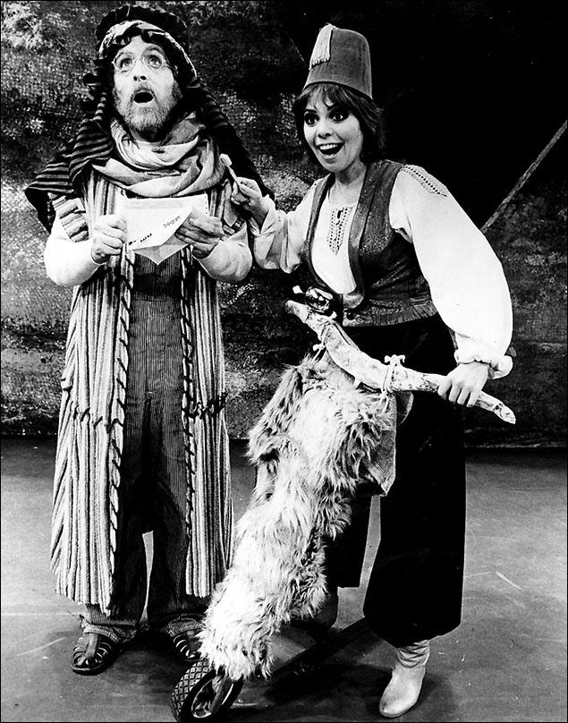 Gordon Stanley and Laurie Beechman