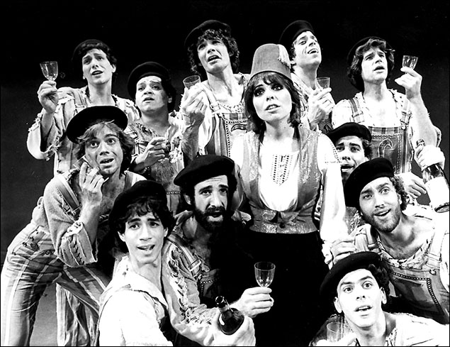 Laurie Beechman and cast