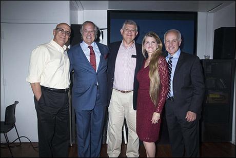Tom Viola, Stewart F. Lane, Philip Birsh, Bonnie Comley and Joe Benincasa