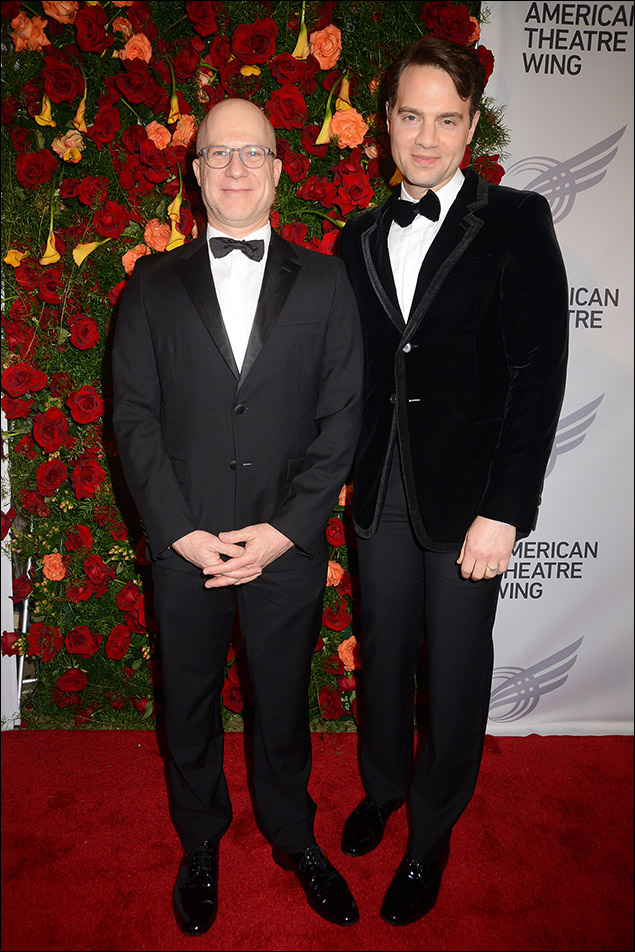 Richie Jackson and Jordan Roth