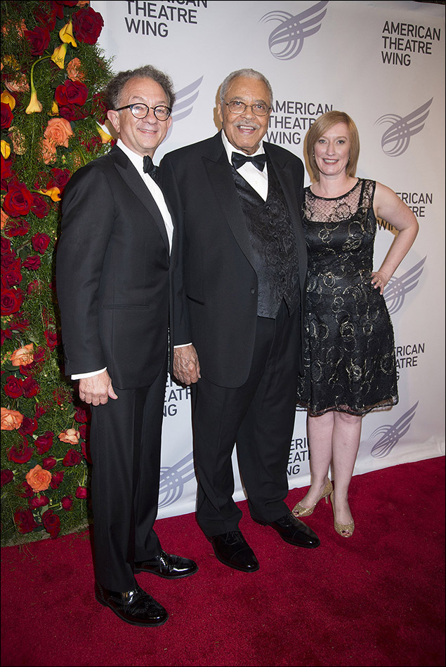 William Ivey Long, James Earl Jones and Heather Hitchens