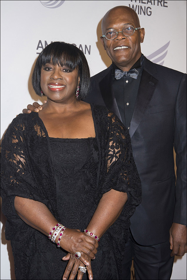 Latanya Richardson Jackson and Samuel L. Jackson