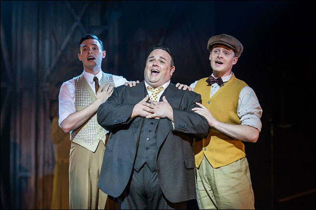 Joshua Lovell, Jack Edwards (Fatty) and Ashley Andrews