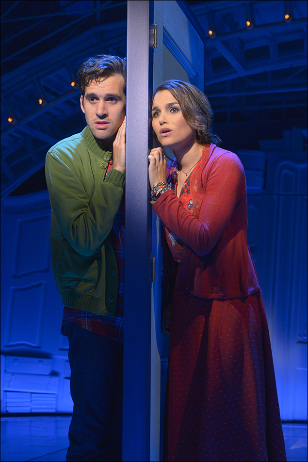 Adam Chanler-Berat and Samantha Barks