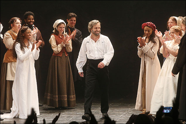 Alfie Boe and cast