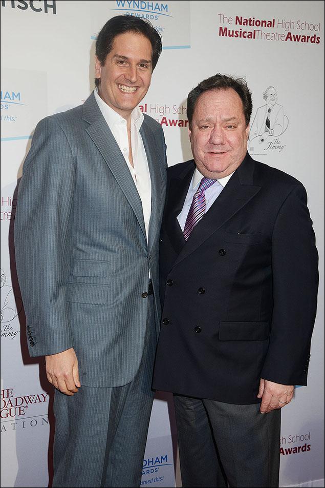 Nick Scandalios and James L. Nederlander