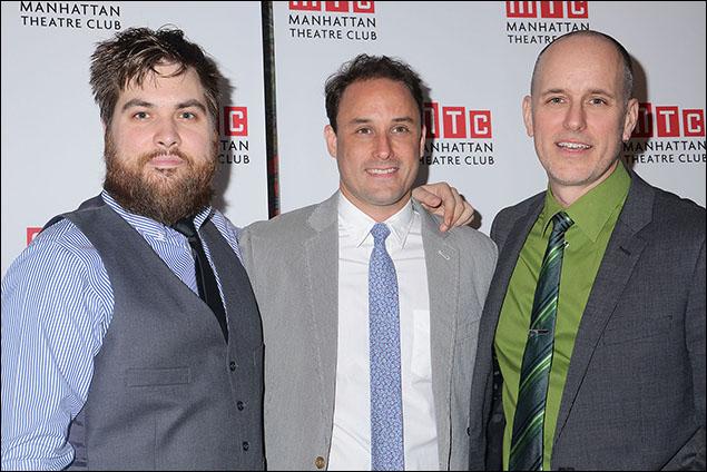 Nate Miller, Greg Keller and Kelly AuCoin