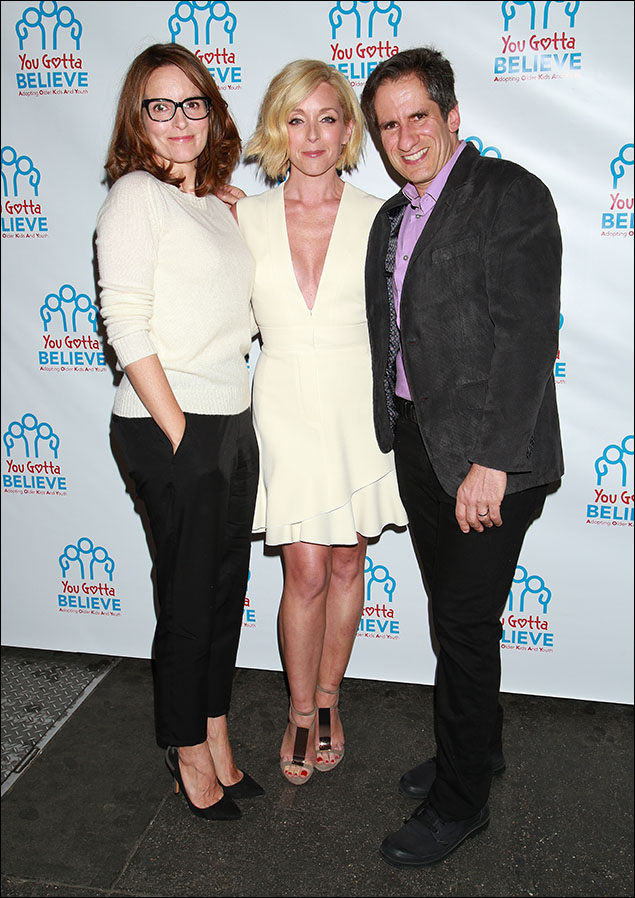 Tina Fey, Jane Krakowski and Seth Rudetsky