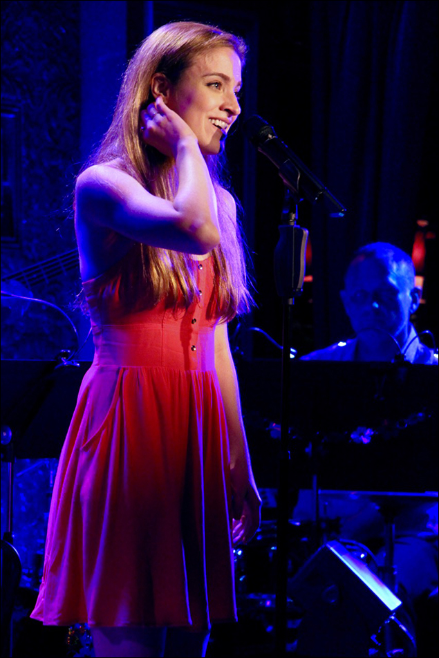 """Christy Altomare sings """"Thinking Of You"""""""